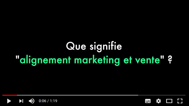 Alignement marketing et ventes