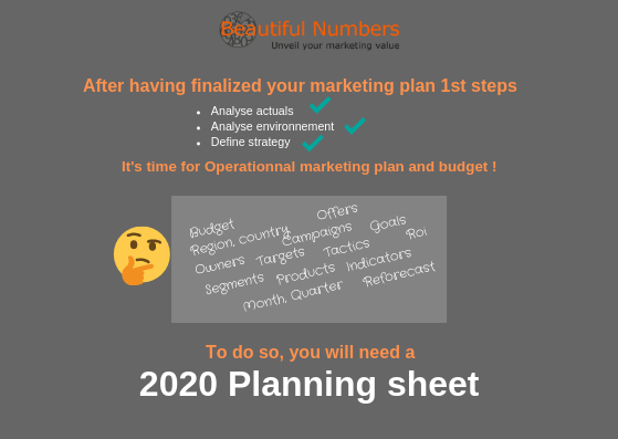 Planning sheet marketing_beautiful numbers