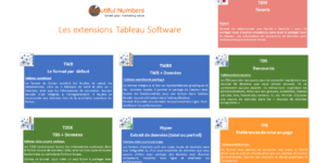 Les formats Tableau Software par Béautiful Numbers